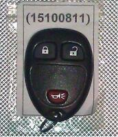 GM remote keyless entry key FOB ( 15100811 )