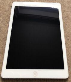 iPad Air 64Gb A1474 Silver Spares or Repair