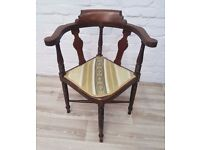 Victorian Chair (DELIVERY AVAILABLE FOR THIS ITEM OF FURNITURE)