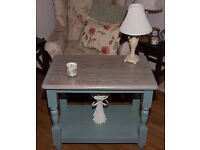 Coffee Table, Shabby Chic finish