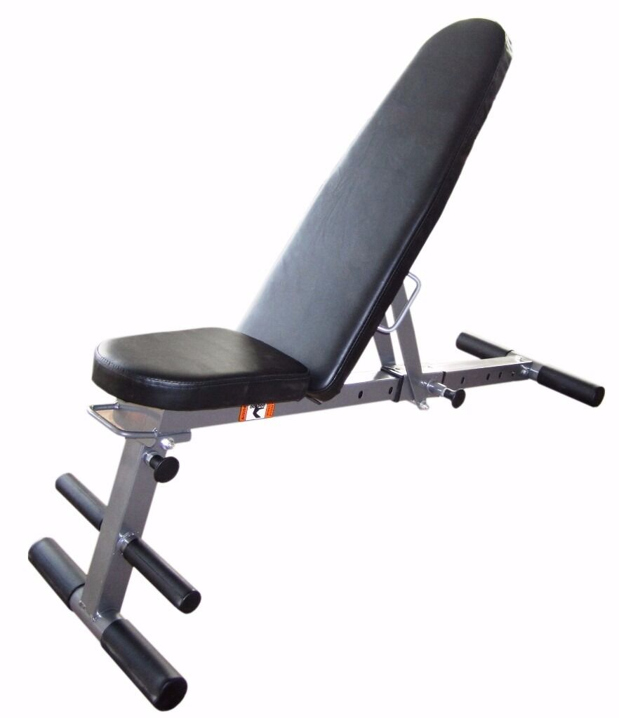 Weight Training Bench Folding U0026 Adjustable Exercise Bench 7 In 1: Brand New