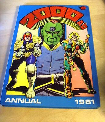 FLEETWAY 2OOOAD ANNUAL 1981 GC NICE ART