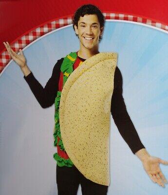 Mens Womens Adult TACO Burrito MEXICAN FOOD Halloween Costume S M L XL Purim NEW