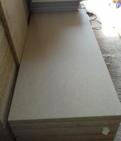 50 Pieces of NEW 12mm High Density P2 Commercial Chipboard 47¼in x 11½in (1200mm x 295mm)