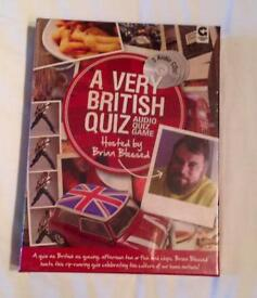 A VERY BRITISH QUIZ AUDIO QUIZ GAME. NEW CONDITION.