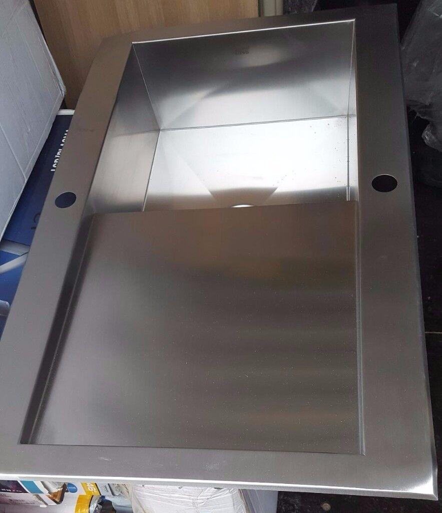 Brand new Stainless steal B&Q kitchen sink | in Marple, Manchester ...