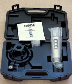 RØDE NT2000 studio condenser microphone -as new condition