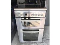 INDESIT STAINLESS STEEL GAS COOKER EXCELLENT CONDITION, 4 MONTH WARRANTY