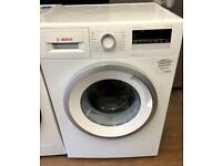 BRAND NEW BOSCH SERIE 4 8KG 1400 SPIN WASHING MACHINE IN WHITE ABSOLUTE BARGAIN ..!!