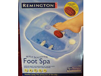 Remington Spa massage foot bath Brand New
