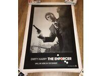 Film Poster- Clint Eastwood - Original (advance)