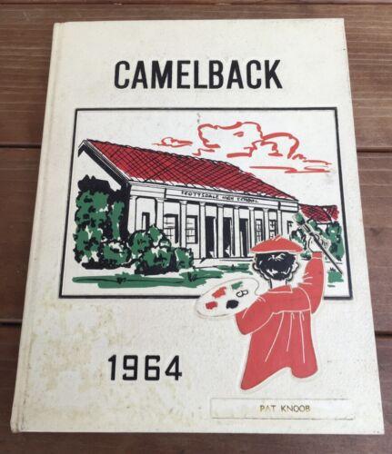 1964 SCOTTSDALE HIGH SCHOOL YEARBOOK SCOTTSDALE AZ ARIZONA CAMELBACK