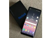 Samsung Note 8 64GB - unlocked with extras