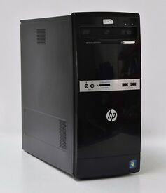 WINDOWS 7 HP 500B INTEL DUAL CORE 2.50 TOWER PC COMPUTER - 2GB RAM - 160GB HDD