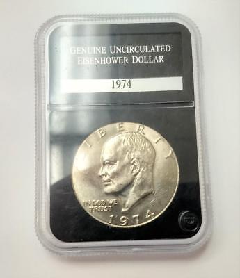1974 Genuine Uncirculated Eisenhower Dollar
