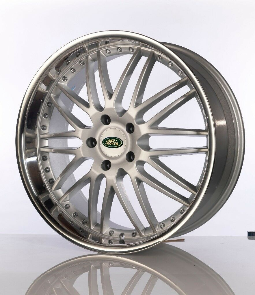 "VELOCE EXCLUSIVE DEEP DISH RANGE ROVER / X5 ALLOYS 22"" WITH TYRES X 4"