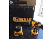 DEWALT 18V DC727 Combi-Drill with Dewalt Case, 2.ah Battery and Charger
