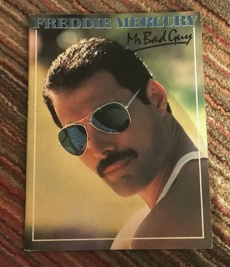 Freddie Mercury Mr Bad,Guy Music Booklet