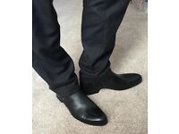 Men's leather boots shoes. ETOR. SALE. Last pair. Size 9 (43) OFFER your PRICE
