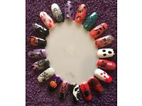 Halloween nails 🎃🕷👻