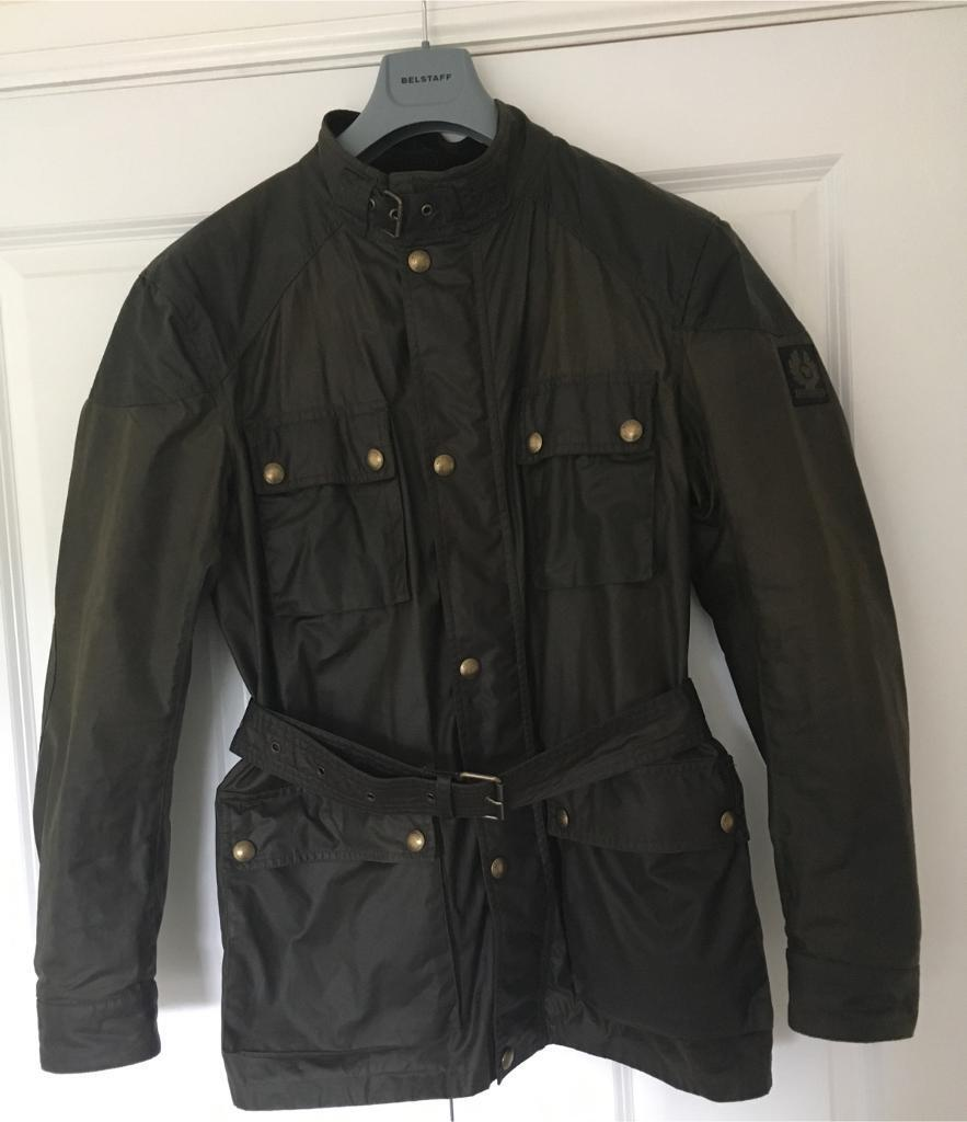 f6cb8c28d5 Belstaff Roadmaster Olive Waxed Jacket Size 52 Large | in East ...