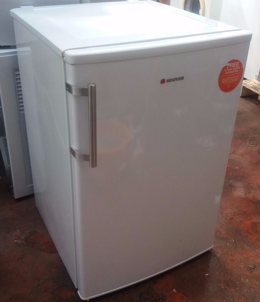 Counter Fridge Hoover Hfoe5485we 84x55cm Under Counter Fridge With Icebox In