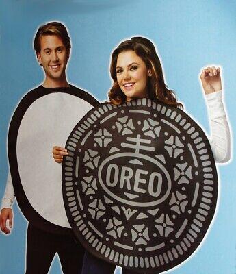 Halloween Dessert Cookies (Couples Mens Womens OREO COOKIE Halloween Costume Dessert Adult S L XL Purim)