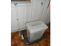 3 Laundry Items, Airer, Baskets, £10 the lot, or could split