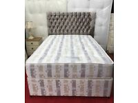 King size Sylvia Bed with princess headboard*free delivery*