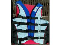 Jobe Buoyancy Aid Multi Strap Impact Vest. Small / Medium Adult.