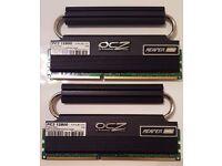 OCZ 4GB 2x2GB REAPER 6-8-6 DDR3 1600MHz PC3 12800 Memory