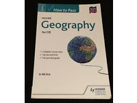 How to pass Higher Geography