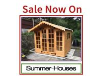 10x10 High Quality Summer Houses (All sizes available)