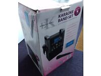 Easy Karaoke EKS-515 Band Set all-in-one karaoke system CD+G player with colour monitor