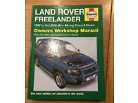 Haynes Manual - LandRover Freelander
