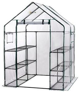portable greenhouse with 6 tiers
