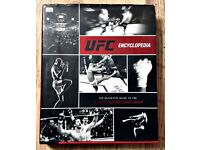 UFC Encyclopedia (hardback, Ultimate Fighting Championship MMA, COLLECTION FROM KENNINGTON ONLY)