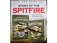 Boxed Set of The Story of the Spitfire with DVD and Book