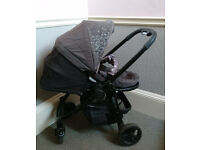 Graco travel system (matching pushchair, car seat & ISOFIX base)