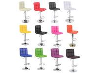 Adjustable Cuban PU Faux Leather Computer Chair Chairs Office Desk Swivel Studio Salon Barber Wheels