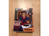 "BRAND NEW SUPERMAN figure 4"" - + FREE POWER RANGERS KEY RING"