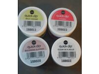 QUICK DIP acrylic powder nail colour