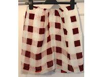 Topshop Boutique Mini Skirt Silk Size 10 £5