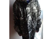 Ski jacket and trousers/sallopets