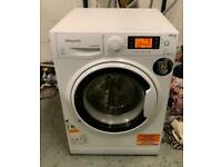 HOTPOINT Ultima S-Line 9kg washing machine 1400 spin £130 good condition