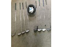 Golf Clubs x8