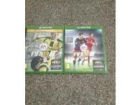 FIFA 17 & 16 XBOX ONE