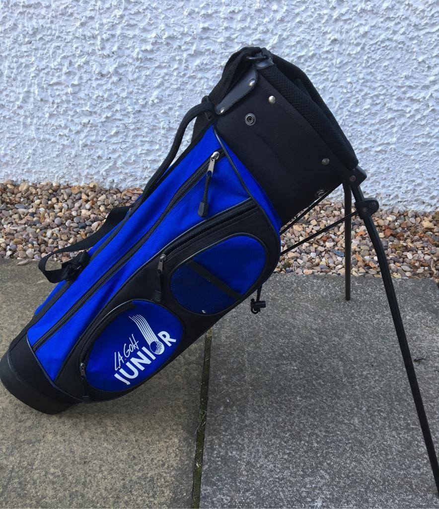 Junior Golf Bag With Stand And Strap La