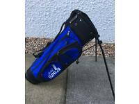 Junior Golf Bag with stand and strap. LA Golf. Boys Girls.