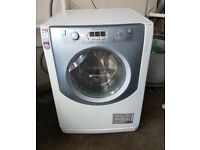 FREE DELIVERY Large 8KG Hotpoint Aqualtis washer dryer WARRANTY